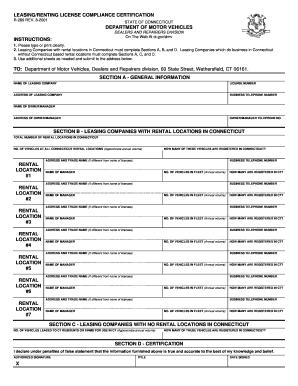 connecticut rental application form - Fillable & Printable Top ...