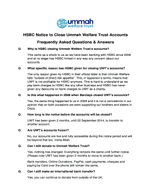 letter to close bank account hsbc - Edit, Fill, Print & Download