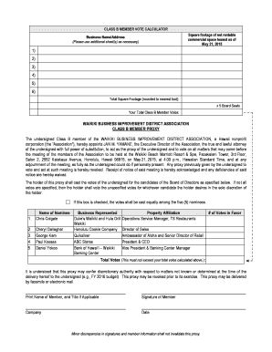 Editable triple net lease calculator fill out print please turn over for class b member proxy platinumwayz