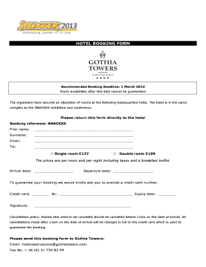 Hotel booking form template word edit fill print download hotel booking form snackex pronofoot35fo Choice Image