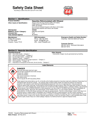 Fillable Online Phillips 66 Gasoline - Ewing Oil Fax Email Print