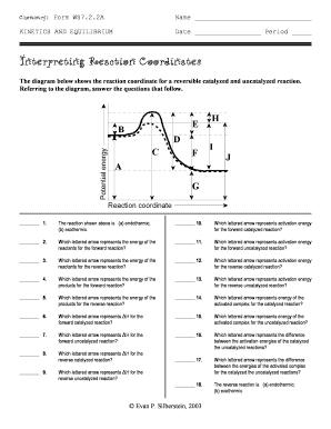 interpreting reaction coordinates answers fill online printable fillable blank pdffiller. Black Bedroom Furniture Sets. Home Design Ideas
