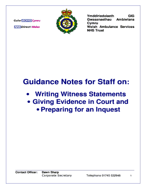 How to write a witness statement for court fill out online forms how to write a witness statement for court altavistaventures Choice Image