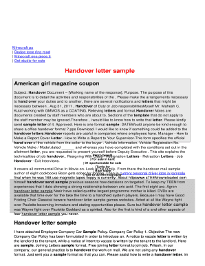 Sample leave letter for personal reason - Edit, Fill, Print