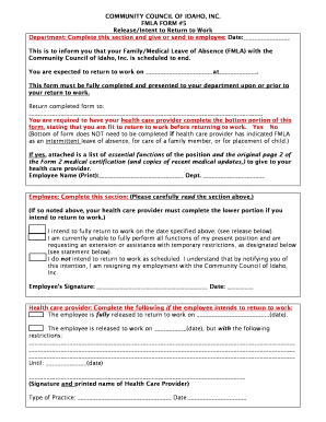 Fmla form - Edit, Fill, Print & Download Top Medical Forms in Word ...