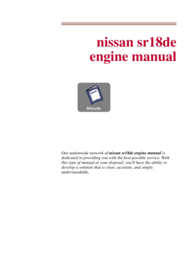 nissan sr18 engine manual