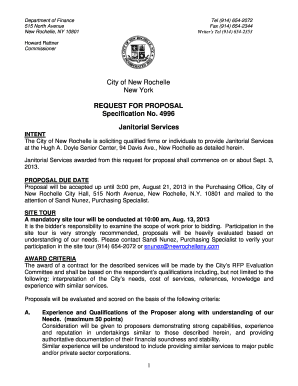 janitorial services contract
