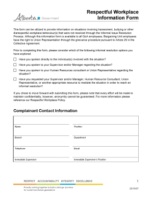 Sample complaint letter about manager behaviour - Edit, Fill