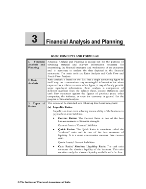 3 Financial Analysis and Planning - ICAI Knowledge Gateway
