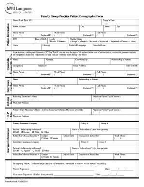 nyu langone hospital address - Fill Out Online, Download