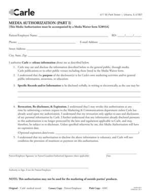 general media release form Templates - Fillable ...