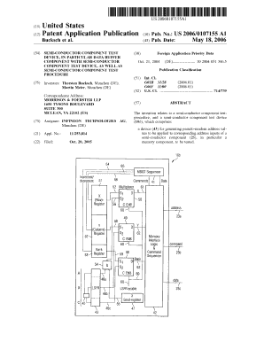 Semi-conductor component test device in particular data buffer bb