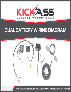 Fillable Online Dual Battery Wiring Diagram Australian