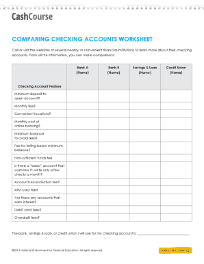 checking account balance worksheet forms and templates fillable printable samples for pdf. Black Bedroom Furniture Sets. Home Design Ideas