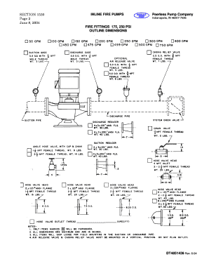 fillable online dimensions peerless pump xnet home fax email print rh pdffiller com Fire Truck Pumps Diagram Fire Pump Electrical Requirements