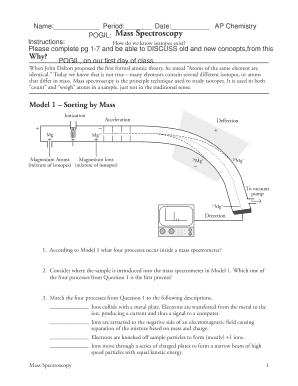 fillable online mass spectroscopy fax email print pdffiller. Black Bedroom Furniture Sets. Home Design Ideas