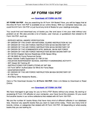 fillable online innotexa af form 104 af form 104 innotexa fax