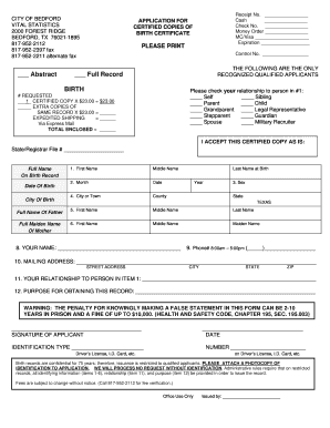 23140218 Ohio Marriage Application Form on