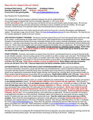 Fillable online kedke e 674 kedke fax email print for Ferdinand indiana craft show