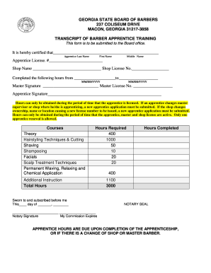 High school transcript template forms fillable printable samples transcript for cosmetology school form spiritdancerdesigns Image collections