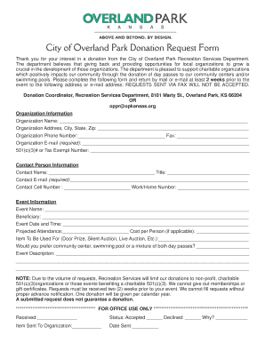 20 Printable Sample Donation Request Letter To A Company Forms And