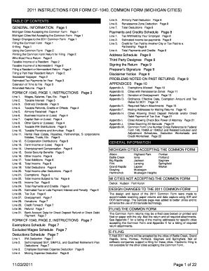 Lansing Cf 1040 - Fill Online, Printable, Fillable, Blank | PDFfiller