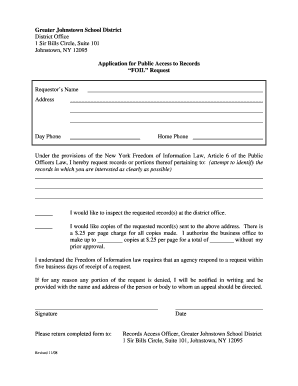 Ny Foil Request Form - Fill Online, Printable, Fillable, Blank ...