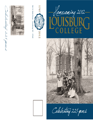 Download the Homecoming brochure - Louisburg College