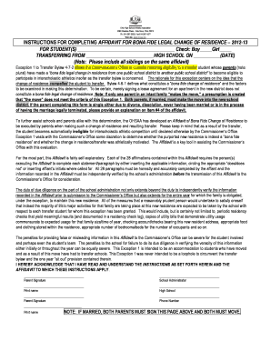 Bonafied Affidavit - Fill Online, Printable, Fillable, Blank