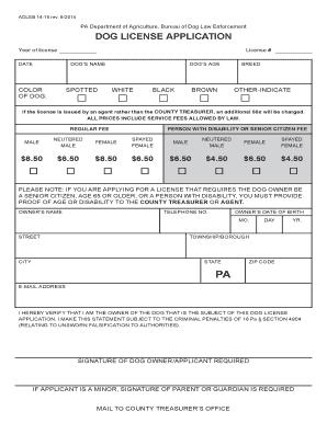 Dauphin county pa senior citizenlifetime dog license for Senior citizen fishing license