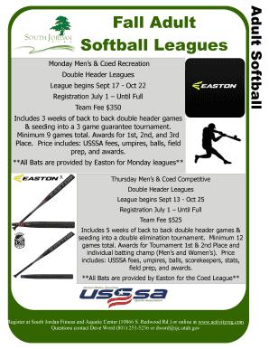 sports physical form utah  Fillable Online sjc utah Fall Softball Flyer and ...