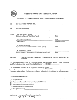 Recommendation letter for primary school admission forms and the school board of miamidade county florida transmittal for agreement form for contracted services to expocarfo Images