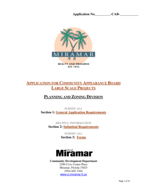 City Of Miramar Building Permit Application