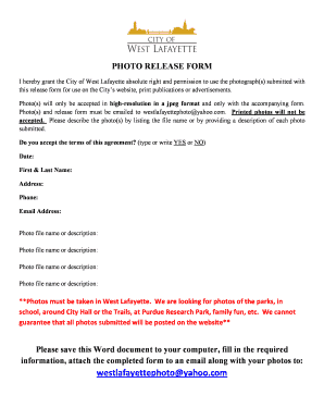 Nice Photo Release Form Template Microsoft Word