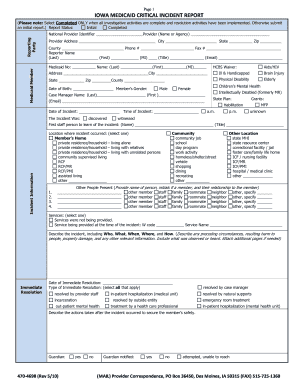 critical incident report Reporting/investigating deaths/critical incidents in dbhdd critical incident report form page 1 21 access to the dbhdd critical incident database.
