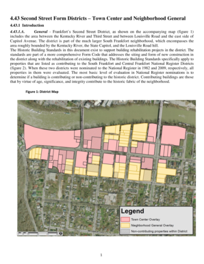 Final Proposed Second Street Form Code District ... - City of Frankfort - frankfort ky