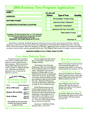 village newsletter template form