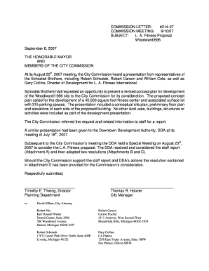 Fillable Online LA Fitness Proposal - City of Royal Oak Fax Email ...