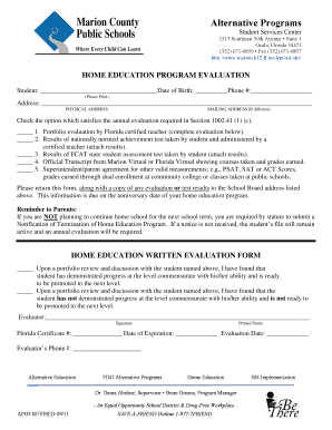 Editable evaluation on student progress i983 sample - Fill Out ...