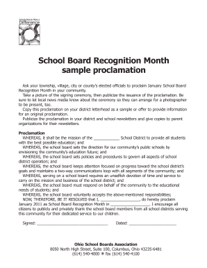 Printable sample courtesy visit letter to government official school board recognition month sample proclamation altavistaventures Choice Image