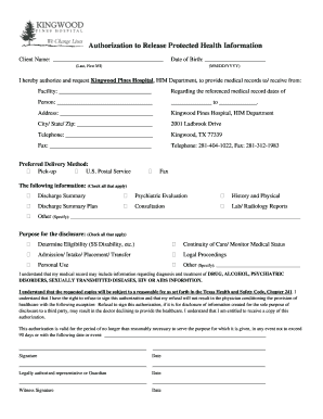 19 printable standard medical records release form templates
