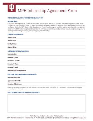 internship report format sample - Edit, Print, Fill Out & Download