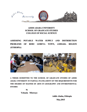Addis ababa university masters program registration