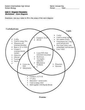 Fillable online worksheet venn diagram organic chemistry answer fill online ccuart Choice Image