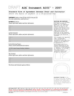 aia document a101 free download - Forms & Document Templates