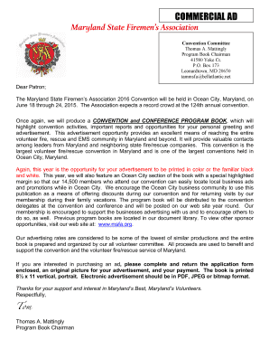 COMMERCIAL AD Maryland State Firemens Association - msfa