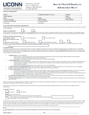 Payroll Action Form Template