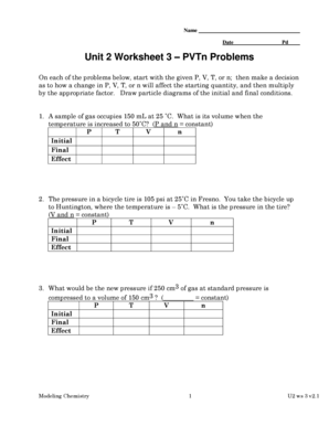 unit 2 worksheet 3 pvtn problems answers fill online printable fillable blank pdffiller. Black Bedroom Furniture Sets. Home Design Ideas