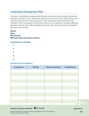 reflective leadership plan This plan incorporates the student's results on multiple personality and aptitude tests and explains that he will use the servant leadership theory as the basis for.