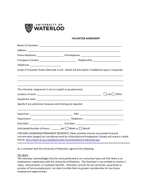Fillable sublet agreement waterloo - Edit, Print & Download Form